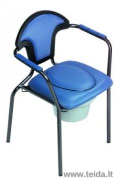Tualeto kėdė Open, mėlyna