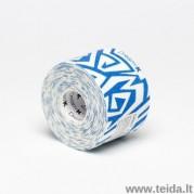 Dream®K Tribe kineziologinis teipas, mėlynas/baltas (raštuotas)
